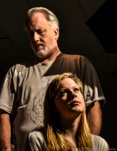 As Doc Gibbs in Our Town with Emily Carter as Emily Webb