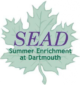 Summer Enrichment at Dartmouth (SEAD) Logo
